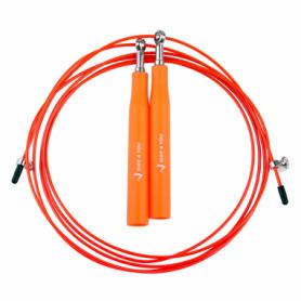 Скакалка скоростная Way4you Ultra Speed Cable Rope 3, оранжевая