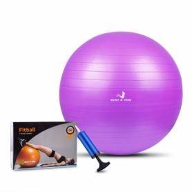Мяч для фитнеса (фитбол) Way4you, 65 см (w40121v)