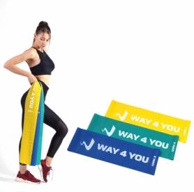 Набор эластичных лент для фитнеса Way4you Set of 3 (w40110LB)