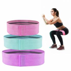 Резинки для фитнеса и спорта тканевые  Way4You Elite Set