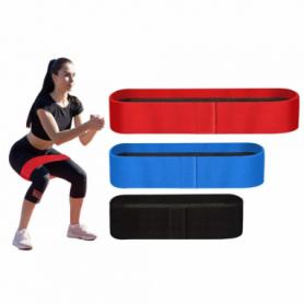 Резинки для фитнеса и спорта тканевые Way4you Core-Set Set of 3