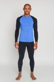 Комплект термобелья мужской спортивный Tervel Comfortline (SL1002300217) - голубой