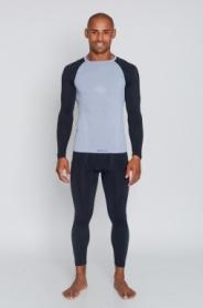 Комплект термобелья мужской спортивный Tervel Comfortline (SL1002300216) - серый