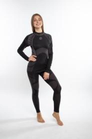 Комплект термобелья женский спортивный Sesto Senso Active (SL71767177) - черный