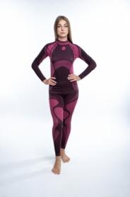 Комплект термобелья женский спортивный Sesto Senso Active (SL71747175) - розовый