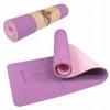 Коврик для йоги и фитнеса Springos TPE YG0015 Purple/Pink, 183х61х0.6 см - Фото №2