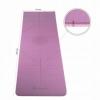 Коврик для йоги и фитнеса Springos TPE YG0015 Purple/Pink, 183х61х0.6 см - Фото №4