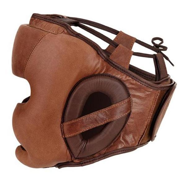 Шлем для бокса Benlee Harvey (190119 (w.brown)), S/M, Коричневый