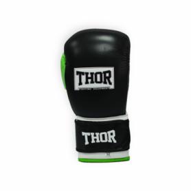 Перчатки боксерские Thor Typhoon (8027/01(Leather) B/GR/W)