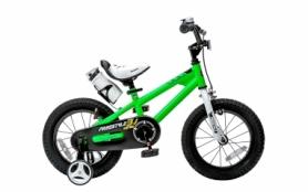 "Велосипед детский RoyalBaby Freestyle RB16B-6-GRN - зеленый, 16"""