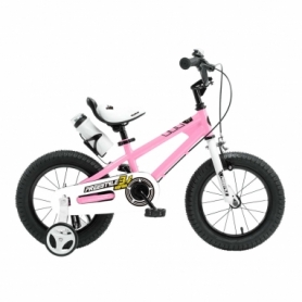 """Велосипед детский RoyalBaby Freestyle RB16B-6-PNK - розовый, 16"""""""