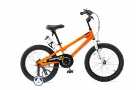 "Велосипед детский RoyalBaby Freestyle RB18B-6-ORG - оранжевый, 18"""