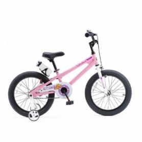 """Велосипед детский RoyalBaby Freestyle RB18B-6-PNK - розовый, 18"""""""