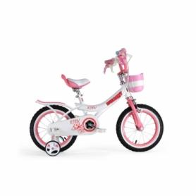 """Велосипед детский RoyalBaby Jenny Girls 14, рама - 14"""" (RB14G-4-WHT)"""