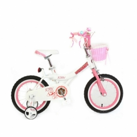 "Велосипед RoyalBaby Jenny Girls 16"" (RB16G-4-WHT)"