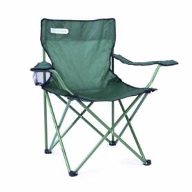 Кресло туристическое складное Spokey Angler, зеленое