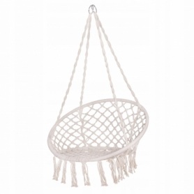 Кресло-качели (плетеное) Springos SPR0020, бежевое