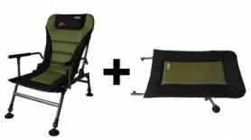Кресло рыболовное, карповое Novator SR-2 Comfort + Подставка Novator POD-1 Comfort (NV-201918A)