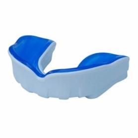Капа FirePower Polaris Gel Белая с синим (Для взрослых)
