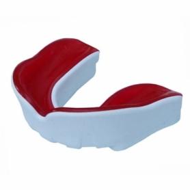 Капа FirePower Polaris Junior Gel Белая с красным (Для подростков)