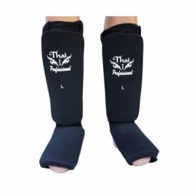 Защита для ног (голень + стопа) трикотажная Thai Professional SG5 (FP-191-V) - черная