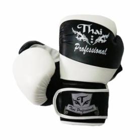 Перчатки боксерские Thai Professional BG7 (FP-214-V) - белые