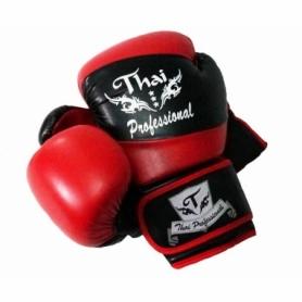 Перчатки боксерские Thai Professional BG7 (FP-215-V) - красные
