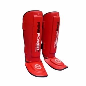 Защита для ног (голень + стопа) FirePower FPSGА1 (FP-234-V) - красная
