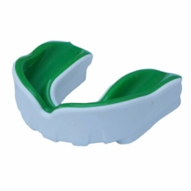 Капа FirePower Polaris Gel Зеленая с белым (Для взрослых)