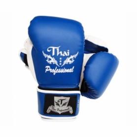 Перчатки боксерские Thai Professional BG8 (FP-341-V) - синие