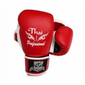 Перчатки боксерские Thai Professional BG8 (FP-533-V) - красные
