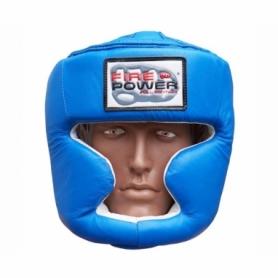 Шлем боксерский FirePower FPHG3, синий