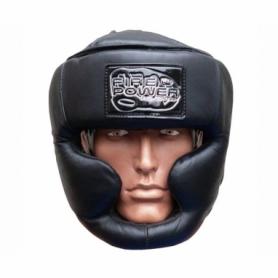 Шлем боксерский FirePower FPHG3, черный матовый