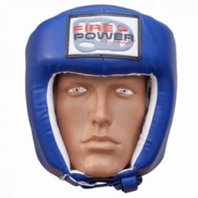 Шлем боксерский FirePower FPHGA2, синий