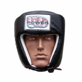 Шлем боксерский FirePower FPHG2, черный