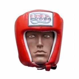 Шлем боксерский FirePower FPHG2, красный