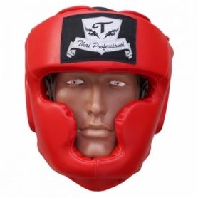 Шлем боксерский Thai Professional HG3L (FP-810-V) - красный
