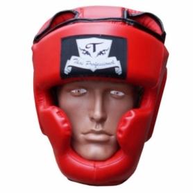 Шлем боксерский Thai Professional HG3T (FP-819-V) - красный