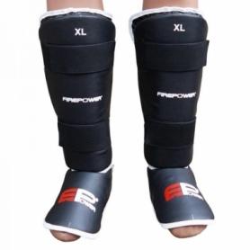 Защита для ног (голень + стопа) FirePower FPSGA9 (FP-1042-V) - черная