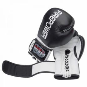 Боксерские перчатки FirePower FPBG10, черные
