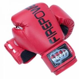 Боксерские перчатки FirePower FPBGА1, красные