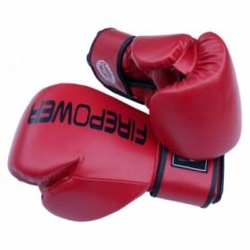 Боксерские перчатки FirePower FPBGА11, красные