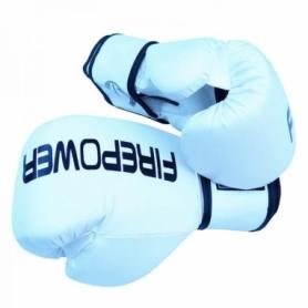Боксерские перчатки FirePower FPBGА11, белые