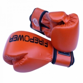 Боксерские перчатки FirePower FPBGА11, оранжевые