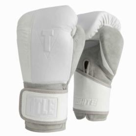 Перчатки боксерские Title Boxing White Training Gloves (FP-1815-V)