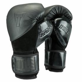 Перчатки боксерские TITLE Boxing Black Blitz Sparring Gloves (FP-2895-V)