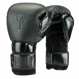Перчатки боксерские TITLE Boxing Black Fierse Training Gloves (FP-2902-V)