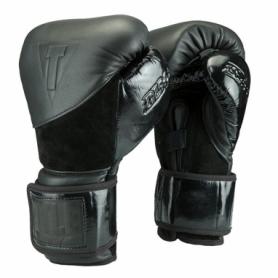 Перчатки боксерские TITLE Boxing Black Blitz Bag Gloves (FP-2908-V)