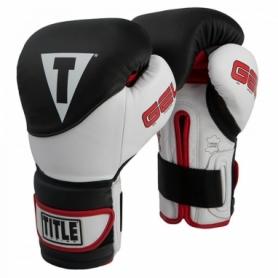 Перчатки боксерские Title Boxing Gel Suspense Training (FP-2918-V) - черные