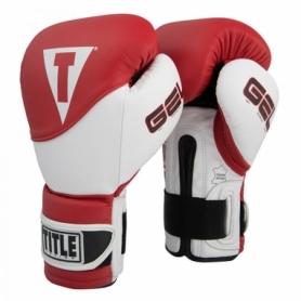 Перчатки боксерские Title Boxing Gel Suspense Training (FP-2924-V) - красные